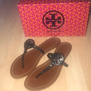 Tory Burch mini miller flat sandals